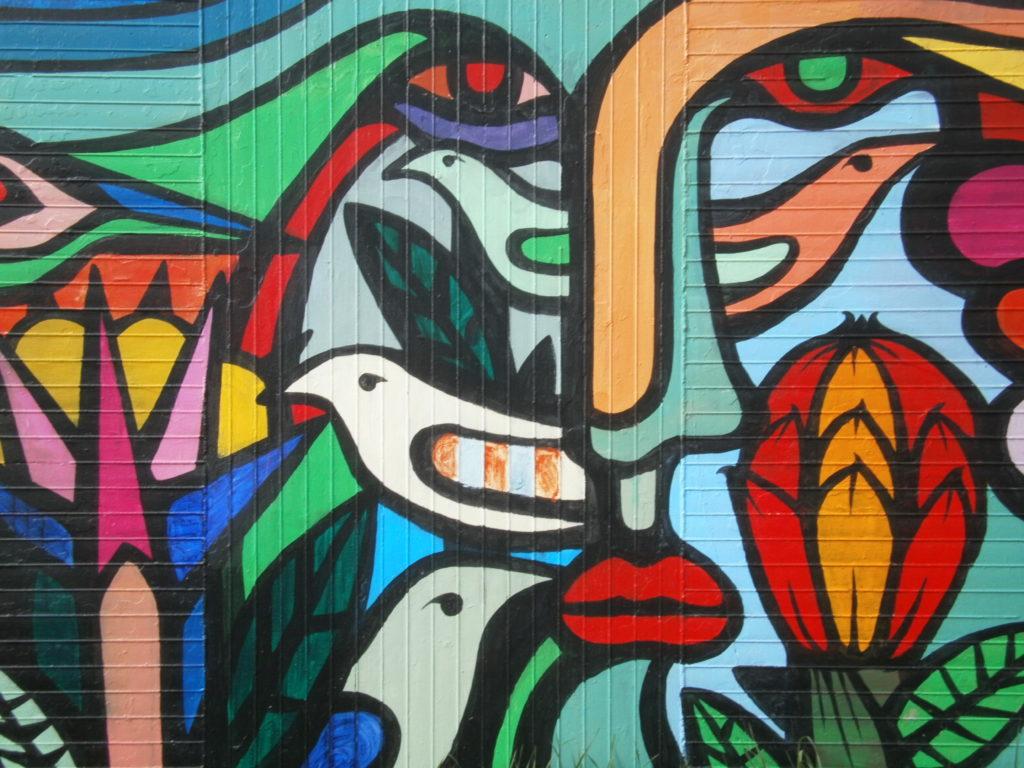 Mono Gonzalez Fresque Campus Pessac